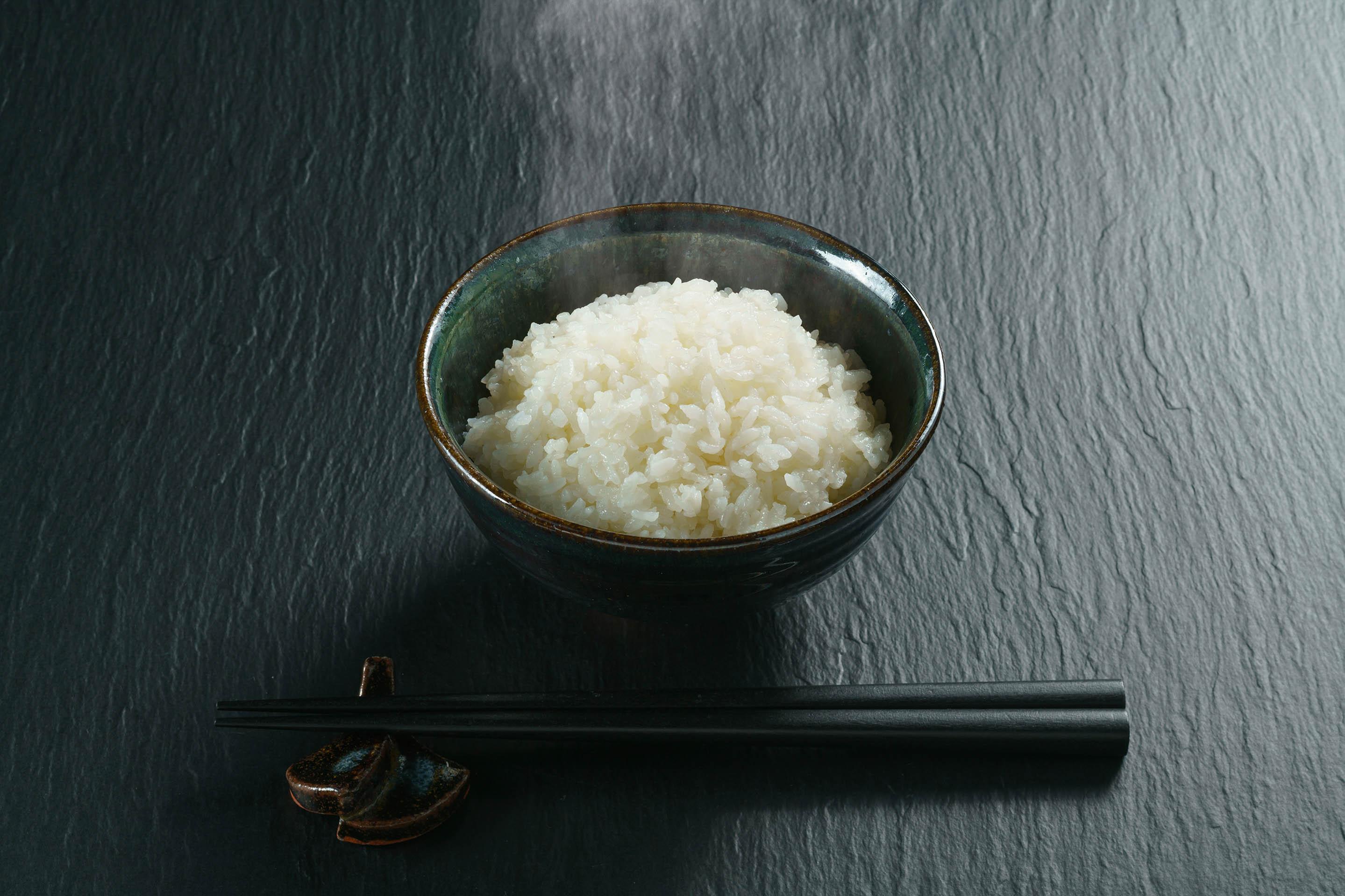 茶碗に入った湯川米
